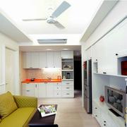 简约地中海单身公寓装修设计
