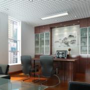 清新总经理办公室吊顶造型