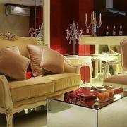 高档女式公寓客厅装修