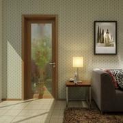 时尚客厅tata木门装修设计