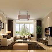 唯美女式公寓客厅设计