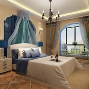 清新地中海卧室设计