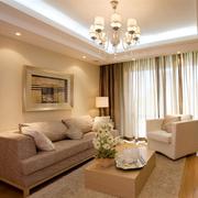 华美小户型客厅装修设计