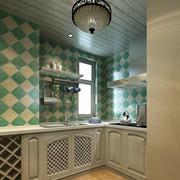 田园地中海厨房橱柜设计
