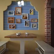 清新地中海风格餐馆装修