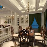 靓丽欧式别墅酒柜设计