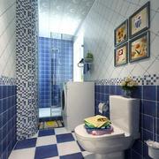 地中海小面积卫生间装修设计