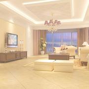 辉煌欧式别墅客厅沙发墙设计