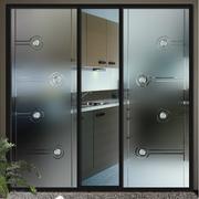 大气厨房推拉门装修设计
