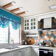 精装地中海开放式厨房装修