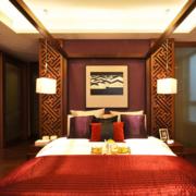 大气新中式卧室装修