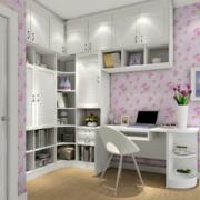 精致儿童房整体书柜装修设计