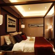 经典新中式卧室装修