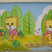 温馨幼儿园壁画设计