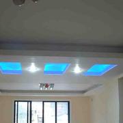 清新客厅走廊吊顶设计