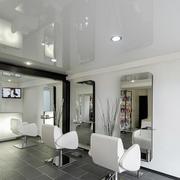 温馨美发店室内设计