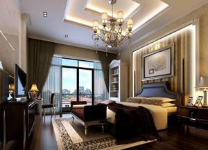 精致美式别墅卧室装修设计