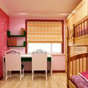清新儿童卧室装修设计
