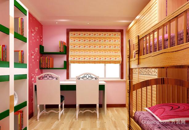 可爱现代儿童卧室装修效果图