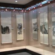 清新中式书画展厅装修
