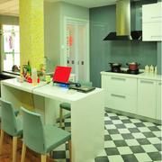 都市小户型开放式厨房装修