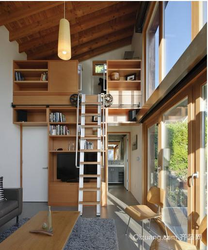 90平米美式单身公寓装修效果图