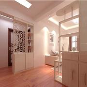 靓丽美式客厅隔断装修设计