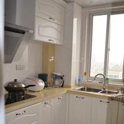 清新厨房橱柜装修设计