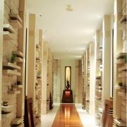 大气三居东南亚客厅装修设计