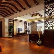 华美中式乡村洋楼装修设计
