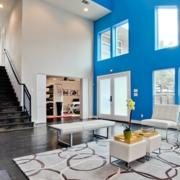 精致跃层式住宅楼梯装修设计