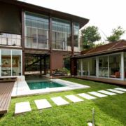 清新农村二层小别墅设计