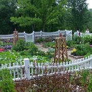 潮流大型别墅入户花园装修