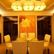 精装餐厅餐桌设计