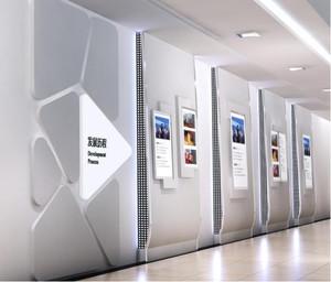 现代简约企业文化墙装修效果图