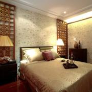复古新中式卧室装修