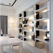 清新书柜设计
