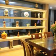 古典中餐厅酒柜设计