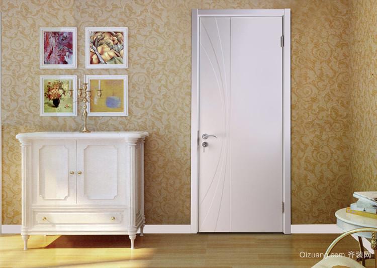 90平米现代简约客厅tata木门装修效果图