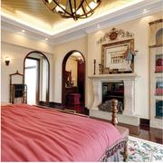 潮流地中海别墅卧室装修设计