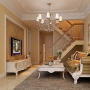 经典客厅石膏线装修设计