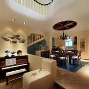 大气欧式餐厅吊顶装修设计
