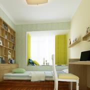 自然卧室榻榻米设计
