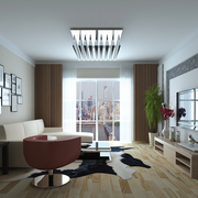 潮流现代客厅装修设计