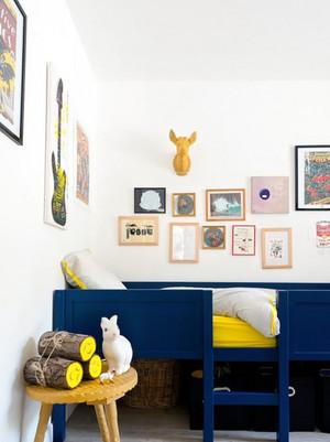 活泼动感的小户型现代儿童房装修效果图