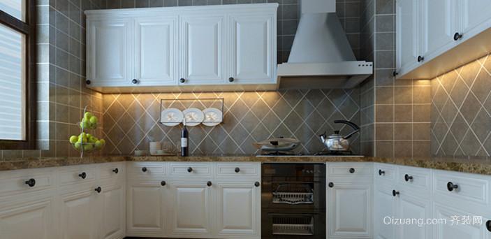 美观实用的厨房橱柜设计图鉴赏