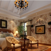 经典美式乡村别墅卧室装修