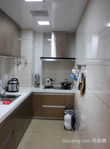6平米小厨房整体橱柜设计效果图