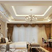 高档东南亚别墅卧室装修
