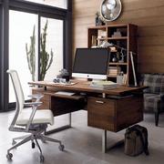 华美电脑办公桌装修设计